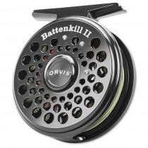 Orvis Battenkill II - Flugrulle, Svart
