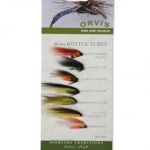 Orvis Brass Bottle Tubes, Tub-flugor