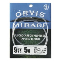 Orvis Mirage Fluorcarbon Tafs 2-Pack Klar