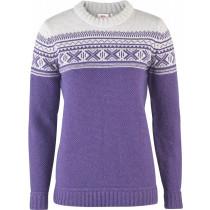 Fjällräven Övik Scandinavian Sweater Women's Alpine Purple