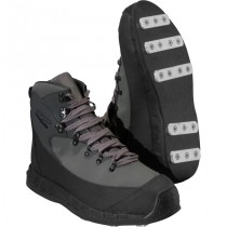 Patagonia Rock Grip Wading Boots-Aluminum Bar Narwhal Grey