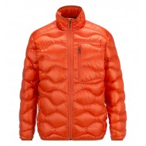 Peak Performance Black Light Helium Jacket Orange Lava
