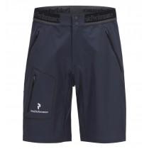 Peak Performance Black Light Lite Softshell Shorts Dark Slate Blue