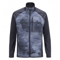 Peak Performance Helium Hybrid Printed Jacket Pattern