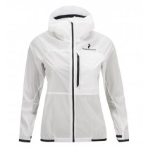 Peak Performance Women's Black Light Wind Jacket White