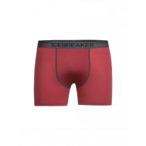 Icebreaker Mens Anatomica Boxers Vintage Red