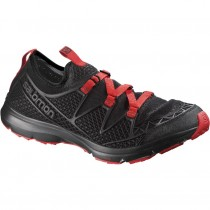 Salomon Crossamphibian Black/Black/Radiant Red