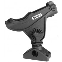 Scotty 280 Baitcaster/Spinning Rod Holder with 241 Side/Deck mount