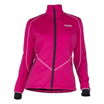 Swix Lillehammer Jacket Womens Bright Fuchsia
