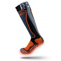 Therm-Ic Powersock Set Ic 1200 Black/Orange