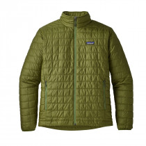 Patagonia M's Nano Puff Jkt Sprouted Green