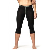 Woolpower 3/4 Long Johns Women's Black
