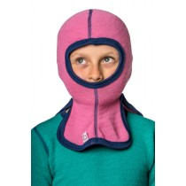 Woolpower Kids Balaclava 200 Sea Star Rose
