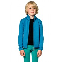 Woolpower Kids Full Zip Jacket 400 Dolphine Blue