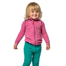 Woolpower Kids Full Zip Jacket 400 Sea Star Rose