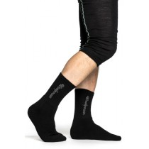 Woolpower Socks Logo 400 Black