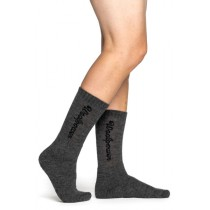 Woolpower Socks Logo 400 Grey