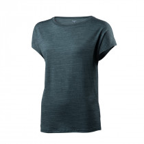 Houdini Women's Activist Message Tee Gust Green