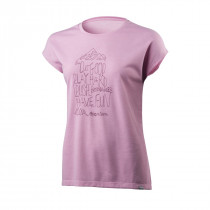 Houdini Women's Big Up Message Tee De Lila