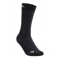 Craft Warm Mid 2-Pack Sock Black/White