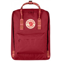 Fjällräven Kånken Deep Red-Folk Pattern