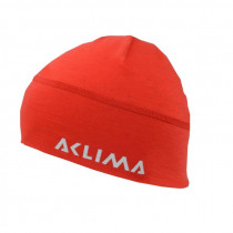 Aclima Lightwool Beanie Unisex High Risk Red