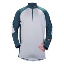 Sweet Protection Alpine Halfzip 17,5/200 Mens Light Grey/Green