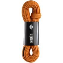 Black Diamond 7.8 Rope -  FullDry 70m Dual Orange
