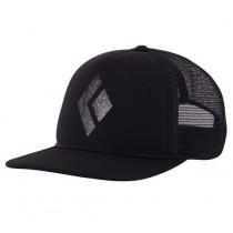 Black Diamond Flat Bill Trucker Hat Black