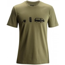 Black Diamond Men's Shortsleeve Dirtbag Tee Burnt Olive