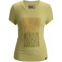 Black Diamond Women's S/S BD Graphic Tee Lemon