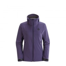 Black Diamond Womens Jacket Dawn Patrol Shell Nightshade