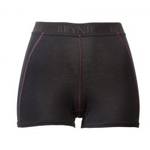 Brynje Lady Classic Rib Boxer-Shorts Black