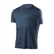 Houdini Men's Activist Message Tee Big Bang Blue