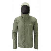 Rab Downpour Jacket Field Green