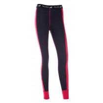 Felines W's Longs 100% Merino Hot Pink/Twilight Blue