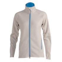 Felines W's Fleece Daily 1/1 Zipper Quiet Grey/French Blue