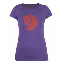 Fjällräven Abisko Trail T-Shirt Print Women's Purple