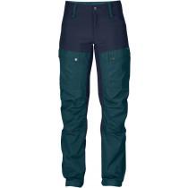 Fjällräven Keb Curved Trouser W Short Glacier Green