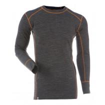 Gridarmor M's Shirt LS BambWool Dark Grey Melange