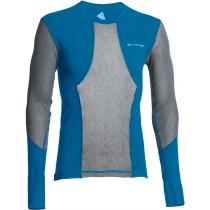 Klättermusen M's Grid Net Sweater Blue Sapphire