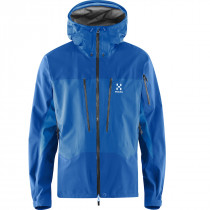 Haglöfs Spitz Jacket Men Gale Blue/Vibrant Blue