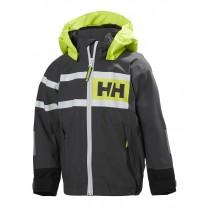Helly Hansen Kids Salt Power Jacket Charcoal