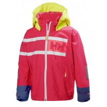 Helly Hansen Kids Salt Power Jacket Magenta