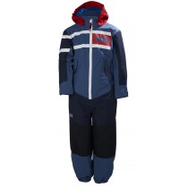 Helly Hansen Kids Salt Power Playsuit Marine Blue