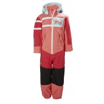 Helly Hansen Kids Salt Power Playsuit Shell Pink