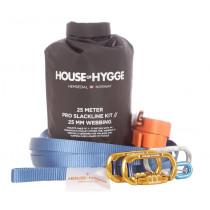 House Of Hygge, 25 meter Pro Slakkline Kit