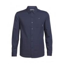 Icebreaker Men's Compass LS Shirt Stealth