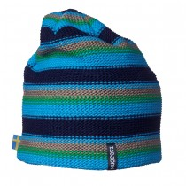 Isbjörn Of Sweden Stripes Knitted Cap Seagrass