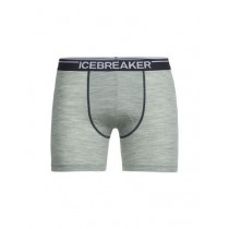 Icebreaker Mens Anatomica Boxers Seaglass Hthr/Stealth